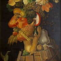 Learning from Arcimboldo. Autumn..